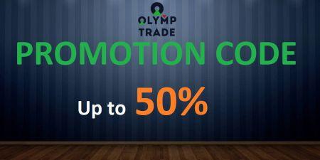 Olymp Trade Promo Code - Up to 50% Bonus